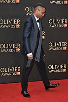 Cuba Gooding Jr.<br /> The Olivier Awards 2018 , arrivals at The Royal Albert Hall, London, UK -on April 08, 2018.<br /> CAP/PL<br /> &copy;Phil Loftus/Capital Pictures