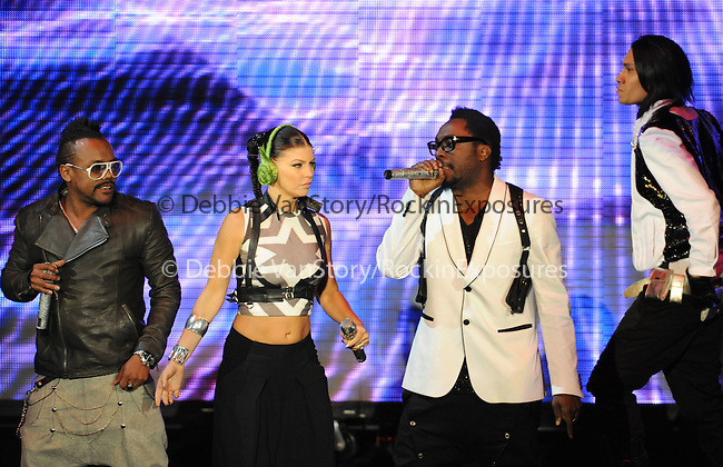 Apl.de.ap,Fergie,Will.i.am & Taboo of The Black Eyed Peas live at The 102.7's KIIS-FM's Wango Tango 2009 held at The Verizon Wireless Ampitheatre in Irvine, California on May 09,2009                                                                     Copyright 2009 DVS/ RockinExposures