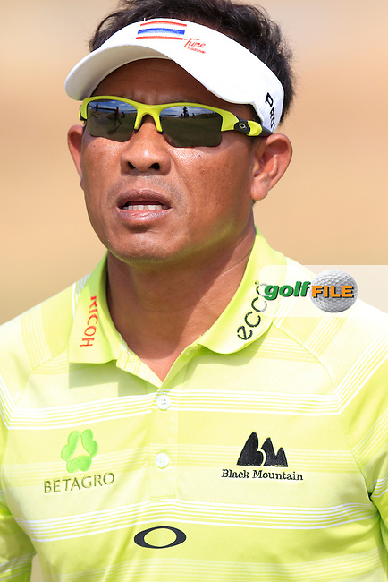 Thongchai JAIDEE (THA) on the 15th green during Thursday's Round 1 of the 2015 U.S. Open 115th National Championship held at Chambers Bay, Seattle, Washington, USA. 6/18/2015.<br /> Picture: Golffile | Eoin Clarke<br /> <br /> <br /> <br /> <br /> All photo usage must carry mandatory copyright credit (&copy; Golffile | Eoin Clarke)