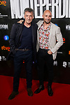 Alain Hernandez and Francis Lorenzo attends to La Caza. Monteperdido premiere at Capitol cinema in Madrid, Spain. March 12, 2019. (ALTERPHOTOS/A. Perez Meca)