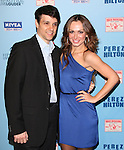 Karina Smirnoff and Ralph Macchio attends Perez Hilton's Blue Ball held at Siren Studios in West Hollywood, California on March 26,2011                                                                               © 2010 DVS / Hollywood Press Agency