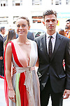 Brie Larson and Alex Greenwald attends the 'Unicorn Store' premiere during the 2017 Toronto International Film Festival at Ryerson Theatre on September 11, 2017 in Toronto, Canada.