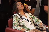 BELO HORIZONTE, MG, 16.08.2013 MISS BRASIL 2013 – Miss Mato Grosso, Jakelyne Silva de 20 anos durante desfile de Biquínis para os jurados do concurso, no Iate Tênis Clube em Belo Horizonte, nesta tarde de segunda-feira (16) (Foto: Marcos Fialho / Brazil Photo Press).