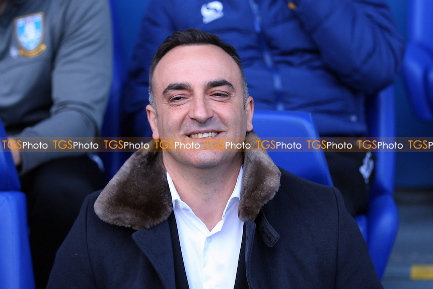 Sheffield Wednesday manager Carlos Carvalhal during Sheffield Wednesday vs Norwich City, Sky Bet EFL Championship Football at Hillsborough on 4th March 2017