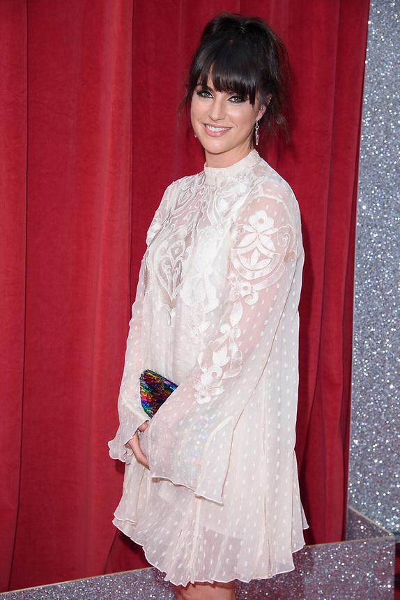 Laura Norton<br /> arriving for the British Soap Awards 2018 at the Hackney Empire, London<br /> <br /> ©Ash Knotek  D3405  02/06/2018