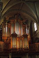 Europe/France/Normandie/Haute-Normandie/76/Seine-Maritime/Le Havre : Le grand orgue de la cathédrale Notre-Dame