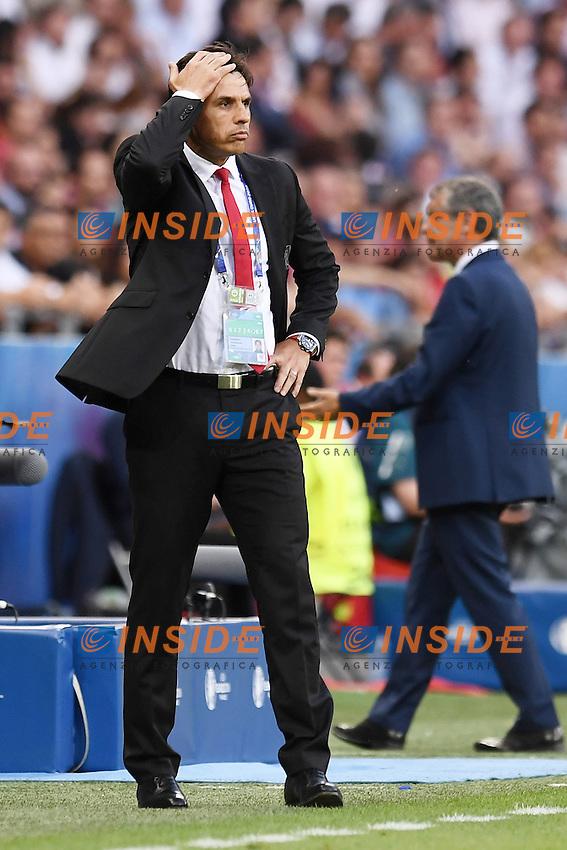 Chris Coleman <br /> Lyon 06-07-2016 Stade de Lyon Football Euro2016 Portugal - Wales / Portogallo - Galles Semi-finals / Semifinali <br /> Foto Matteo Gribaudi  / Image / Insidefoto