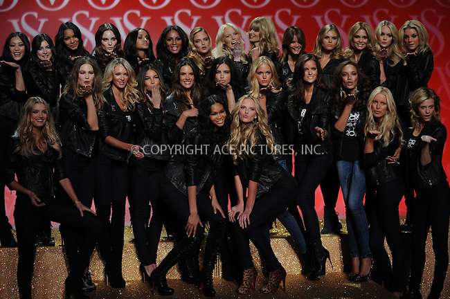 WWW.ACEPIXS.COM . . . . . ....November 9 2010, New York City....The Victoria's Secret Angels attend the Victoria's Secret Fashion Show Preview at the N.Y. State Armory on November 9, 2010 in New York City.....Please byline: KRISTIN CALLAHAN - ACEPIXS.COM.. . . . . . ..Ace Pictures, Inc:  ..(212) 243-8787 or (646) 679 0430..e-mail: picturedesk@acepixs.com..web: http://www.acepixs.com