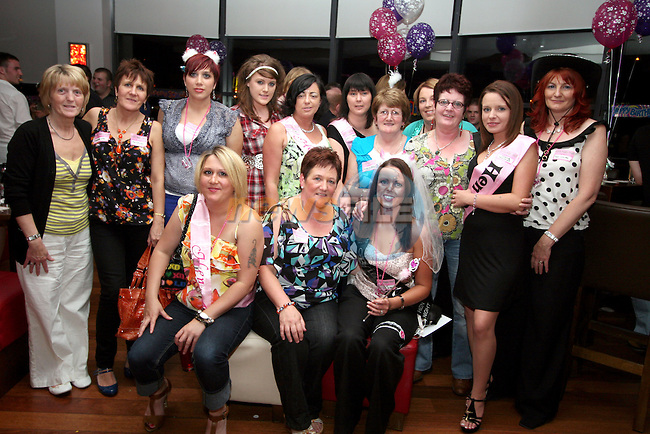 Gwen Hodgins enjoys her Hen Party in Bru...Photo NEWSFILE/Jenny Matthews.(Photo credit should read Jenny Matthews/NEWSFILE)....This Picture has been sent you under the condtions enclosed by:.Newsfile Ltd..The Studio,.Millmount Abbey,.Drogheda,.Co Meath..Ireland..Tel: +353(0)41-9871240.Fax: +353(0)41-9871260.GSM: +353(0)86-2500958.email: pictures@newsfile.ie.www.newsfile.ie.FTP: 193.120.102.198.