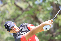 Christiaan Bezuidenhout (RSA) in action during the final round of the Magical Kenya Open presented by ABSA played at Karen Country Club, Nairobi, Kenya. 17/03/2019<br /> Picture: Golffile | Phil Inglis<br /> <br /> <br /> All photo usage must carry mandatory copyright credit (&copy; Golffile | Phil Inglis)