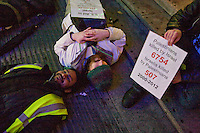 Gaza Die in Demo BBC Mailbox Birmingham 22 Nov 2012