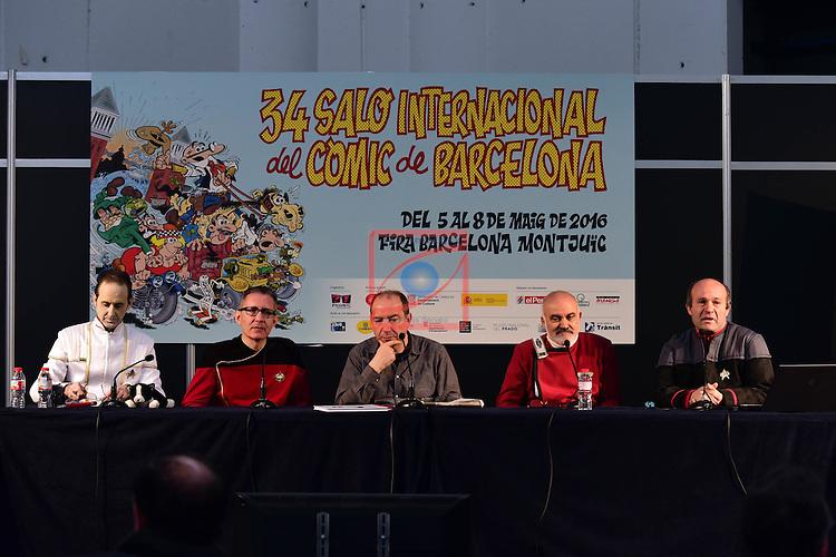 34 Salon Internacional del Comic de Barcelona (2016).