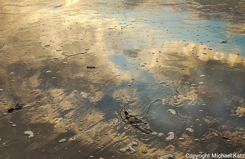 Sand Reflection, Asilomar Beach, Pacific Grove