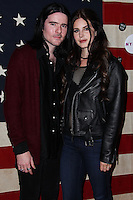 WEST HOLLYWOOD, CA - NOVEMBER 01: Barrie-James O'Neill, Lana Del Rey at Nylon Magazine November 2013 Issue Party held at Sunset Marquis Hotel & Villas on November 1, 2013 in West Hollywood, California. (Photo by Xavier Collin/Celebrity Monitor)