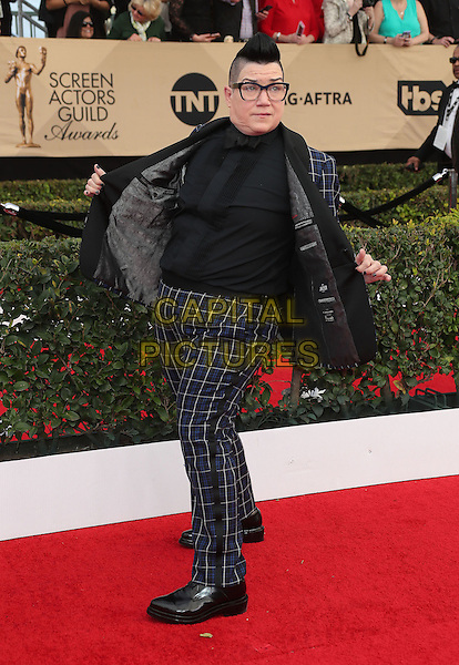 29 January 2017 - Los Angeles, California - Lea DeLaria. 23rd Annual Screen Actors Guild Awards held at The Shrine Expo Hall. <br /> CAP/ADM/FS<br /> &copy;FS/ADM/Capital Pictures
