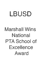 LBUSD Marshall Wins National PTA School Excellence Award