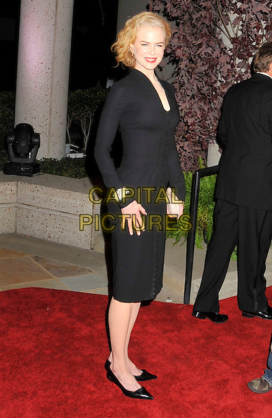 NICOLE KIDMAN.BMI's 56th Annual Country Awards held at BMI Music Row, Nashville, Tennessee, USA..November 11th, 2008.full length black dress bracelet .CAP/ADM/LF.©Laura Farr/AdMedia/Capital Pictures.