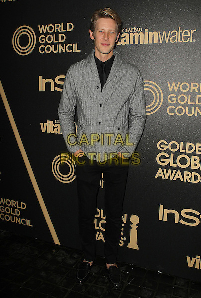 Gabriel Mann.The Hollywood Foreign Press Association And InStyle Miss Golden Globe 2013 Party held at Cecconi's Restaurant, West Hollywood, California,.USA, 29th November 2012..full length grey gray jacket black trousers .CAP/ADM/KB.©Kevan Brooks/AdMedia/Capital Pictures.