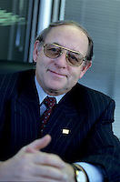 File Photo  Montreal (QC) CANADA<br /> Michel Audet, Finances Minister, Quebec Province (since Feb 18, 2005)<br /> Photo : Sevy / (c) Images Distribution