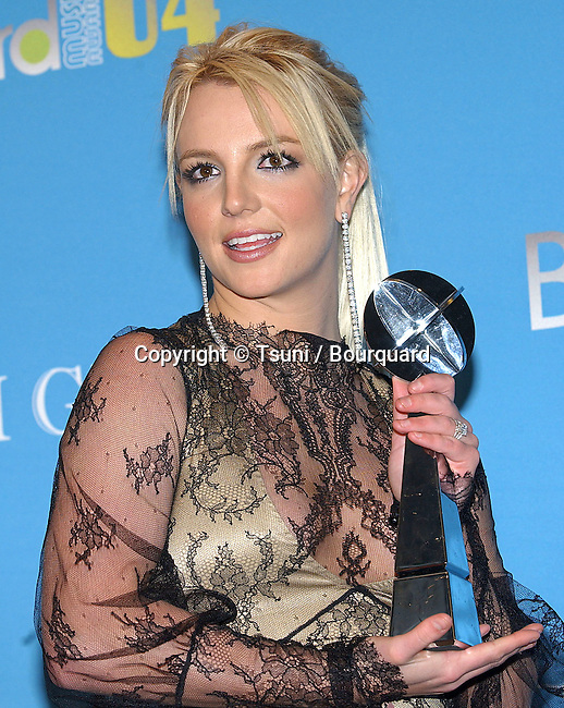 Britney Spears at the Billboard Music Awards at the MGM Grand in Las Vegas. December 8, 2004.