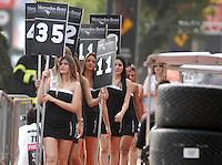 SAO PAULO SP, 05 Maio 2013 - Formula Indy  -   Warm UP para a Itaipava São Paulo Indy 300 Nestlé no autódromo de rua do Anhembi na zona norte de Sao Paulo, neste domingo , 05. (FOTO: ALAN MORICI / BRAZIL PHOTO PRESS).