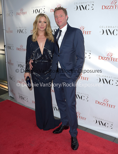 Christina Applegate and Martyn LeNoble attends The Dizzy Feet Foundation 5th Annual 'Celebration of Dance Gala'  held at Club Nokia in Los Angeles, California on August 01,2015                                                                               © 2015 Hollywood Press Agency