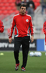 28 April 2007: Toronto's goalkeeper coach Carmine Issaco. Major League Soccer expansion team Toronto FC lost 1-0 to the Kansas City Wizards in the inaugural game at BMO Field in Toronto, Ontario, Canada, the first MLS game played outside of the United States.