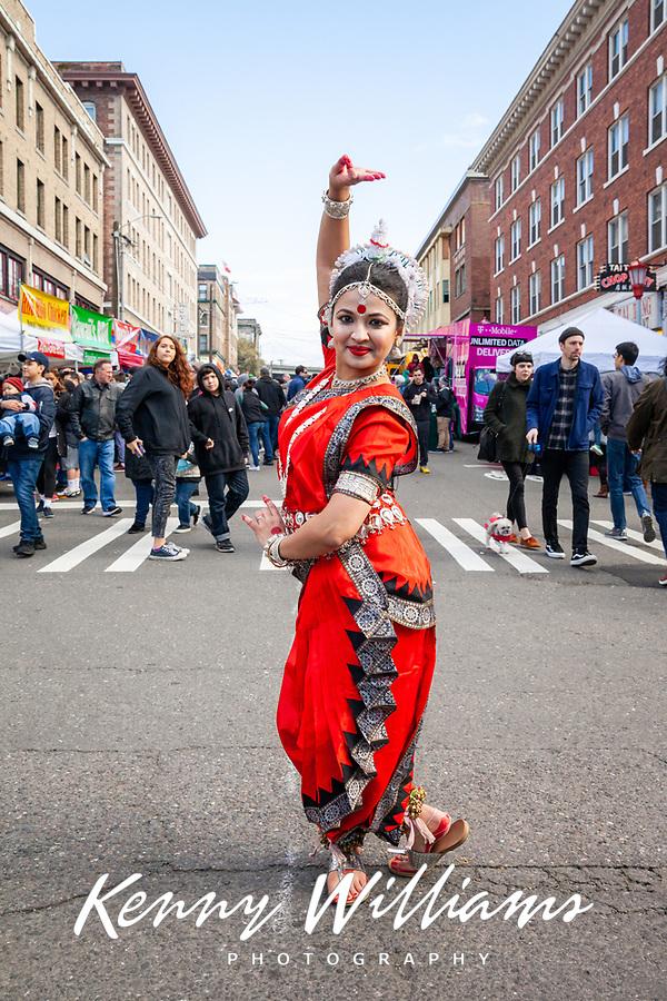 Bulbuli Mukherjee, Chinese New Year 2018, Chinatown, Seattle, WA, USA.