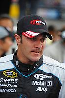 May 2, 2009; Richmond, VA, USA; NASCAR Sprint Cup Series driver David Stremme during the Russ Friedman 400 at the Richmond International Raceway. Mandatory Credit: Mark J. Rebilas-