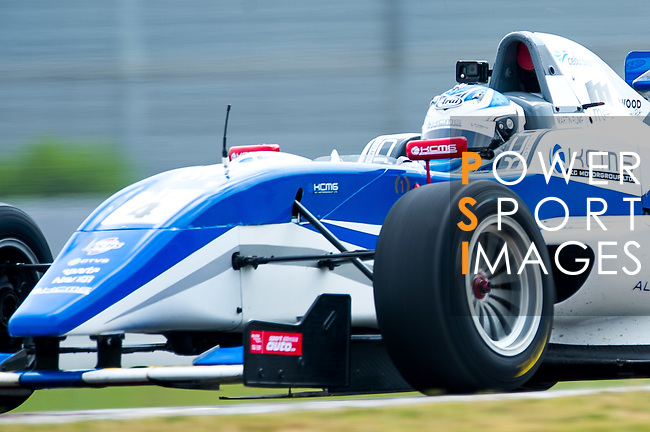 Martin Rump of Estonia and Cebu Pacific Air by KCMG   during the Formula Masters China Series as part of the 2015 Pan Delta Super Racing Festival at Zhuhai International Circuit on September 20, 2015 in Zhuhai, China.  Photo by Aitor Alcalde/Power Sport Images