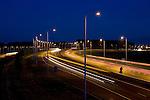 Hoorn, 18 mei 2009<br /> Snelweg A7 ter hoogte van Hoorn.<br /> Dimbare verlichting Philips<br /> Foto Felix Kalkman