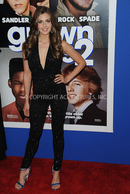 WWW.ACEPIXS.COM<br /> July 10, 2013...New York City <br /> <br /> Erin Brady attending the Columbia Pictures New York Screening of &quot;Grown Ups 2&quot;  at AMC Loews Lincoln Square on July 10, 2013 in New York City.<br /> <br /> Please byline: Kristin Callahan... ACE<br /> Ace Pictures, Inc: ..tel: (212) 243 8787 or (646) 769 0430..e-mail: info@acepixs.com..web: http://www.acepixs.com