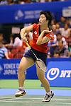 Akane Yamaguchi (JPN), SEPTEMBER 21, 2013 - Badminton : Yonex Open Japan 2013 Women's Singles semi-fainal at Tokyo Metropolitan Gymnasium, Tokyo, Japan. (Photo by AFLO SPORT) [1156]