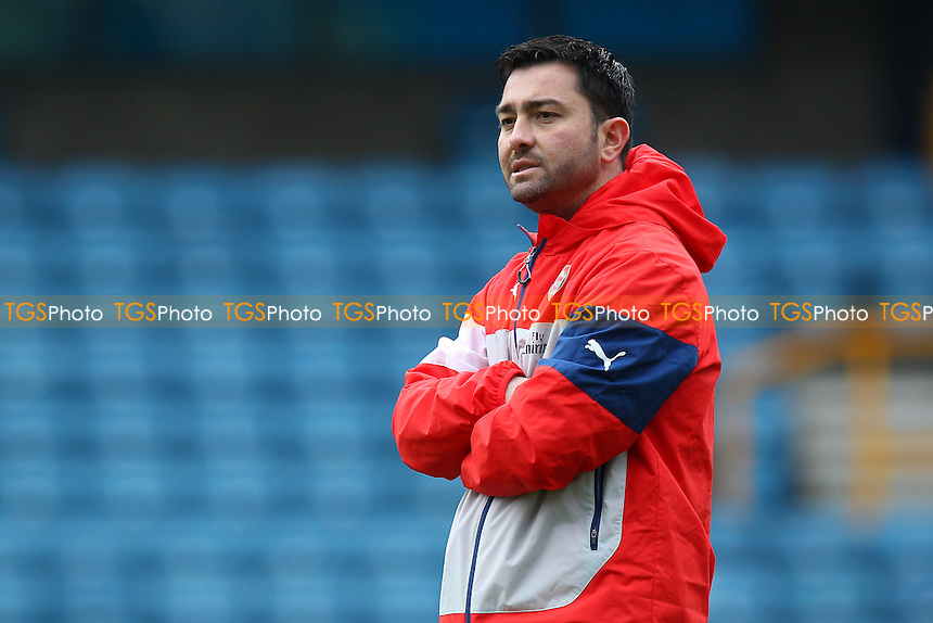 Arsenal Ladies manager Pedro Martinez Losa - Millwall Lionesses vs Arsenal Ladies - FA Womens Challenge Cup 5th Round Football at the New Den, Bermondsey, London - 22/03/15 - MANDATORY CREDIT: TGSPHOTO - Self billing applies where appropriate - contact@tgsphoto.co.uk - NO UNPAID USE
