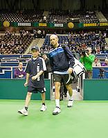 9-2-09,Rotterdam,ABNAMROWTT, N. Davydenko players escort