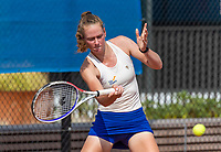 Amstelveen, Netherlands, 13 August 2020, NTC, National Tennis Center, KNLTB Wilcard Tournament,  Stéphanie Visscher (NED)<br /> Photo: Henk Koster/tennisimages.com