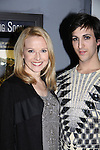Meredith Patterson & Marti Cummings at the 4th Annual Curtains Up for a Cure benefitting Huntington's Disease Society of America on January 31, 2011 at Village Cinema East, New York City, New York. (Photo by Sue Coflin/Max Photos)