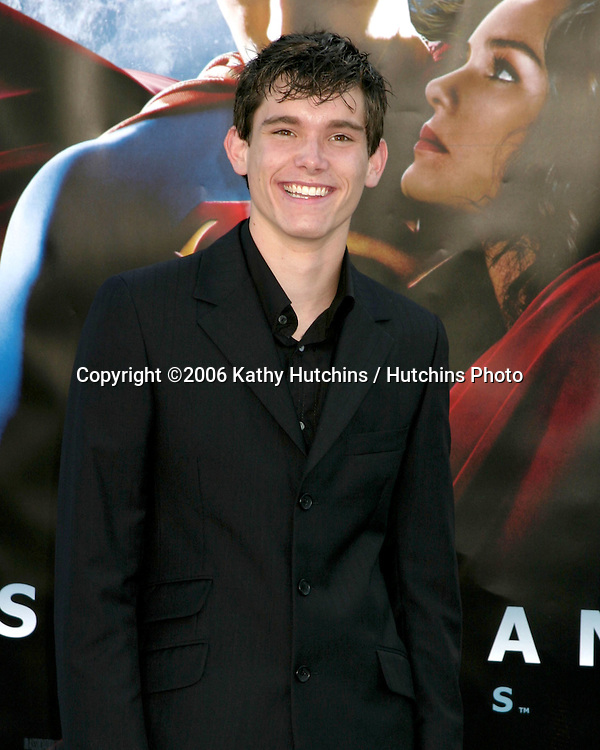 "Stephan Bender.""Superman Returns"" Premiere.Mann's Village Theater.Westwood, CA.June 21, 2006.©2006 Kathy Hutchins / Hutchins Photo...."