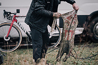 post-race laundry<br /> <br /> Elite Men's Race<br /> GP Sven Nys / Belgium 2018