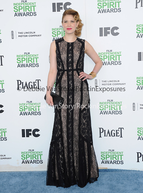 Hande Kodja attends The 2014 Film Independent Spirit Awards held at Santa Monica Beach in Santa Monica, California on March 01,2014                                                                               © 2014 Hollywood Press Agency