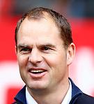 Nederland, Utrecht, 23 december 2012.Eredivisie .Seizoen 2012-2013.FC Utrecht-Ajax.Frank de Boer, trainer-coach van Ajax