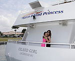 Kristen Alderson & Melissa Archer donated time at 15th Southwest Florida Soapfest 2014 Charity Weekend - at Cruisin' and Schmoozin' on May 25, 2104 aboard the Marco Island Princess (boat), Marco Island, Florida.  (Photo by Sue Coflin/Max Photos)