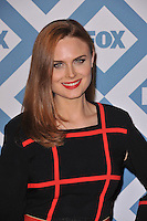 Emily Deschanel at the Fox TCA All-Star Party at the Langham Huntington Hotel, Pasadena.<br /> January 13, 2014  Pasadena, CA<br /> Picture: Paul Smith / Featureflash