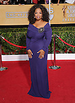 Oprah Winfrey  at The 20th SAG Awards held at The Shrine Auditorium in Los Angeles, California on January 18,2014                                                                               © 2014 Hollywood Press Agency