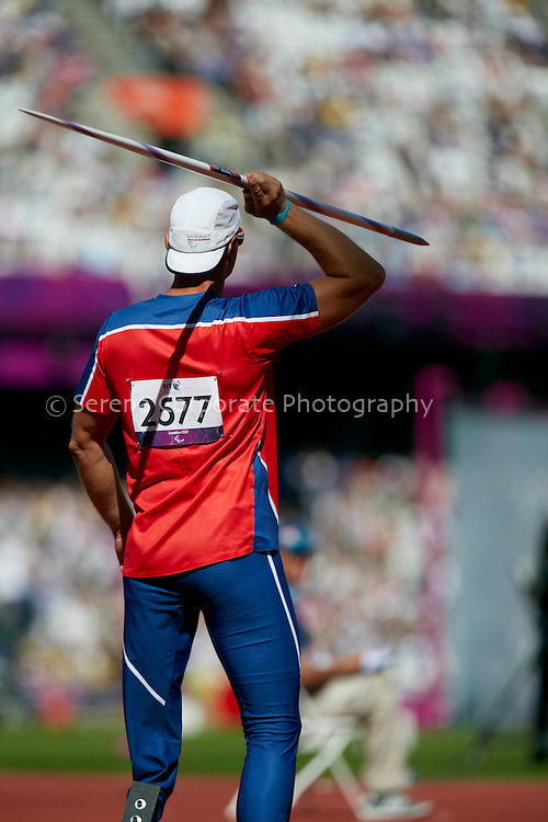 London Paralympic Games - Athletics 7.9.12.