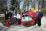 Pedal Library unveiling ceremony