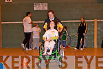 SPORTS DAY: Having a great time at the Sports Day for the Disabled at the Tralee Sports Centre on Saturday..