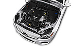Car Stock 2017 Mercedes Benz E-Class E300 4 Door Sedan Engine  high angle detail view