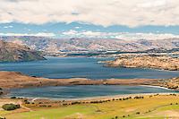 Lake Wanaka as seen from Diamond Lake, Central Otago, New Zealand