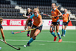 AMSTELVEEN  - Marle Brenkman (Gro)    Hoofdklasse hockey dames ,competitie, dames, Amsterdam-Groningen (9-0) .     COPYRIGHT KOEN SUYK